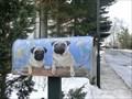 Image for two dogs mailbox - Schmorda/ Thüringen/ Deutschland
