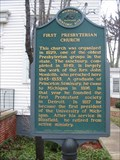 Image for First Presbyterian Church [of Blissfield]