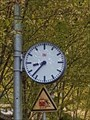 Image for Town Clock Bahnhof Monreal, Rhineland-Palatinate, Germany
