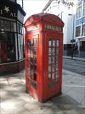 Image for Red Telephone Box - Roseberry Avenue, London, UK