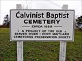Image for Calvinist Baptist Cemetery - Beaver River, NS
