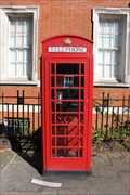 Image for Red Telephone Box - Rosslyn Hill, London, UK