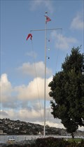 Image for Shelter Island Harbor Police Nautical Flag Pole