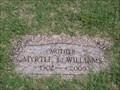 Image for 103 - Myrtle L. Williams - Rose Hill Burial Park - OKC, OK
