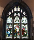 Image for Stained Glass, St Mary's Church, Crosthwaite, Cumbria, UK
