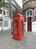 Image for Red Telephone Box - Clerkenwell Road, London, UK
