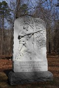 Image for 105th Ohio Infantry Regiment Monument ~ Chickamauga Georgia