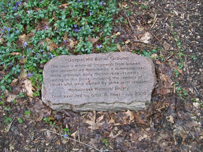 Gospel Hill Cairn Plaque
