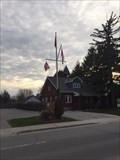 Image for Lower Lakes Towing Nautical Flag Pole - Port Dover, ON