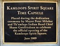 Image for BC Spirit Square Time Capsule - Kamloops, BC