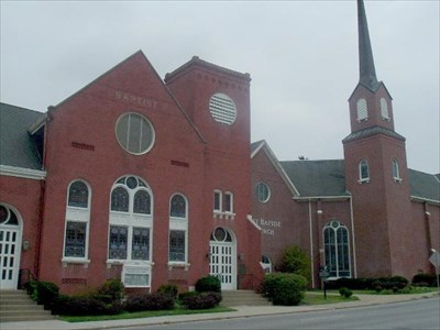 FIRST BAPTIST STAINED GLASS WINDOWS