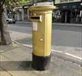 Image for Gold Post Box For Gold Medallist Danielle Brown - Skipton, UK