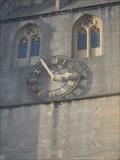 Image for Church Clock - St.Cuthbert's Church, St.Cuthbert Street, Wells, Somerset.
