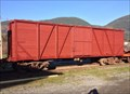 Image for Canadian National Railways Box Car #42856 - Lake Cowichan, British Columbia, Canada