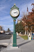 Image for Centennial Clock ~ Yerington, Nevada
