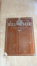 Image for Roll of Honour - St Thomas a Becket - Skeffington, Leicestershire