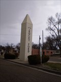 Image for Welcome to Rocky Ford Obelisk - Rocky Ford, CO