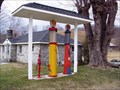 Image for Old Gas Pumps - Hwy 421 North Carolina