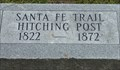 Image for Overbrook Santa Fe Trail Hitching Post - Overbrook, Ks