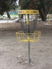 Disc Golf Basket, Pasadena, California