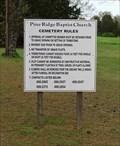 Image for Pine Ridge Baptist Church Cemetery - Union Grove, AL