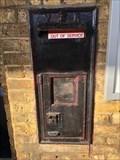 Image for Victorian Wall Post Box - Farnham Station - Farnham - Surrey - UK