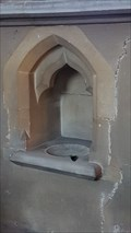 Image for Piscina and Sedilia - St John the Evangelist - Shenton, Leicestershire