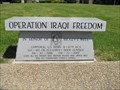 Image for Afghanistan-Iraq War Memorial - General John Riggs Veterans Park Memorial - Caruthersville, Missouri