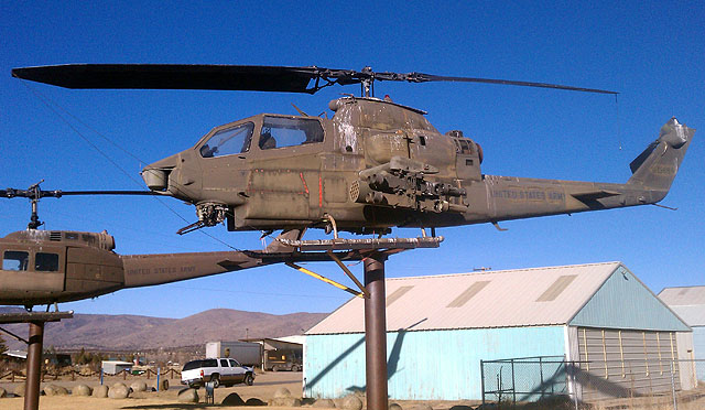 Susanville (CA) United States  city photos gallery : Bell AH 1F Cobra Helicopter Susanville, CA Static Aircraft ...