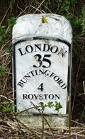 Image for Milestone - A10, Ermine Street, Hertfordshire, UK.