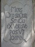 Image for 1728 - Statue pedestal - Straz na Nezarkou, Czech Republic