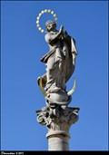 Image for Immaculata on Marian Column / Immaculata na mariánském sloupu - Karlovo námestí (Kolín, Central Bohemia)