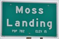 Image for Moss Landing, California ~ Elevation 15 Feet