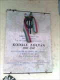 Image for Zoltan Kodaly Memorial  Table - Galanta, Slovakia