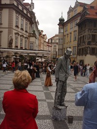 Dum u Minuty / The House at the Minute (Prague Old Town)
