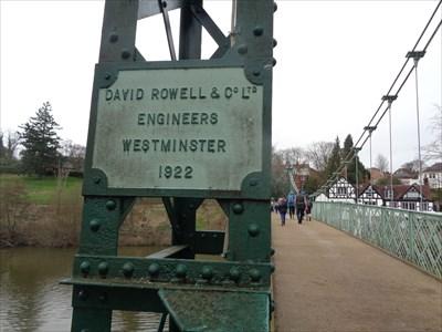 veritas vita visited Porthill Bridge