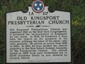 Image for Old Kingsport Presbyterian Church - 1A 117 -Kingsport, TN