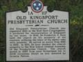 Image for Old Kingsport Presbyterian Church - 1A 117 -Kingsport, TN