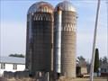 Image for HWY 22 - 54 - 110 Twin silos - Weyauwega, WI