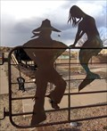 Image for Cowboy and Mermaid - Babe Ruth Park, Gallup, New Mexico