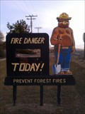Image for Smokey Bear at Doublehead Ranger Station - Tulelake, CA