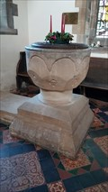 Image for Baptism Font - All Saints - Harmston, Lincolnshire