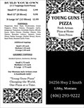 Image for Young Guns Pizza - Libby, Montana