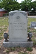 Image for Mrs. Lizzie W. McMahon - Oakland Cemetery - Canton, TX