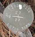 Image for T18S R11E S22 27 1/4 COR -- Deschutes County, OR