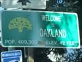 Image for Oakland, CA -  Pop: 409300