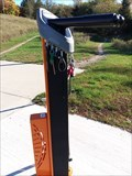 Image for Luton Park Bicycle Repair Station - Rockford, Michigan, USA