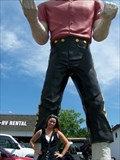 Image for Lauterbach Tire's Muffler Man - Give Me Your Tired - Springfield, IL