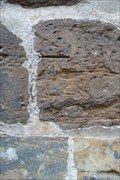 Image for Bolt and Cut-mark, Tower of St. Sepulchre's Church, Sheep Street, Northampton UK.