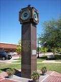 Image for War Memorial Clock - Celina, TX